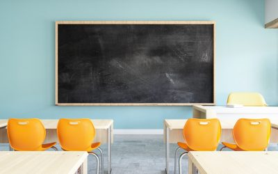 Classroom setting shown in relation to attack on Critical Race Theory across schools in the US.